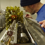 Bottling at Hickory Hill Vineyards