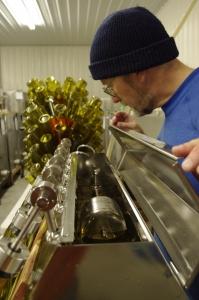 Bottling at Hickory Hill Vineyards