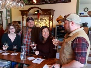 Tasting Room at Hickory Hill Vineyards